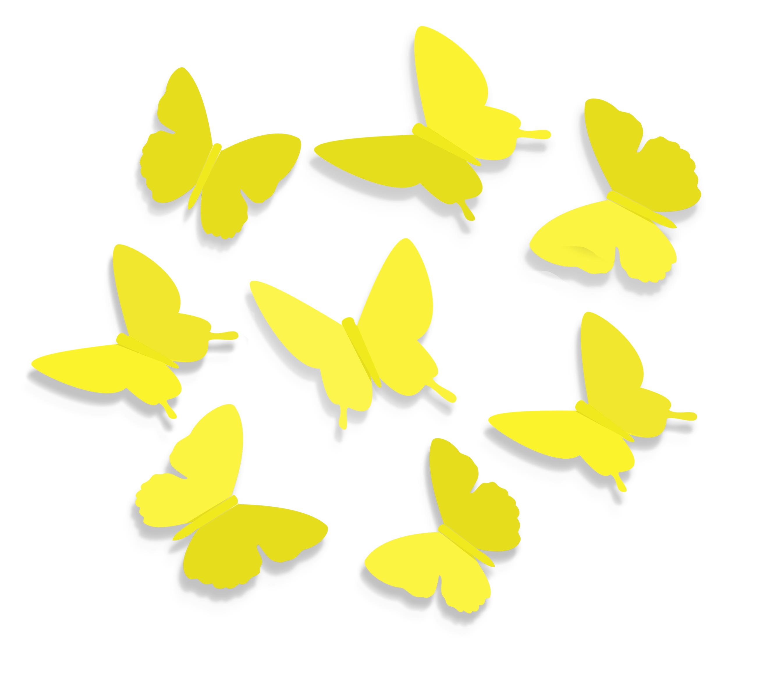 Бабочки для декора своими руками: из бумаги, объемные 58